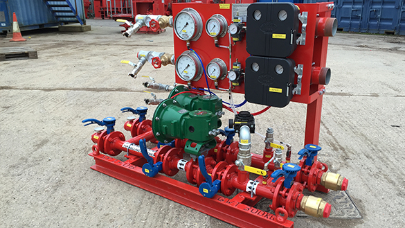 Compressed Air Pressure Control Units ready for shipment to Singapore
