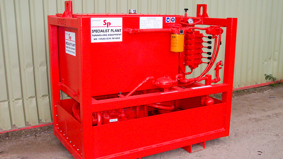 Air Powered Hydraulic Power Pack
