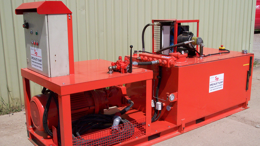 Electrically Powered Hydraulic Power Pack