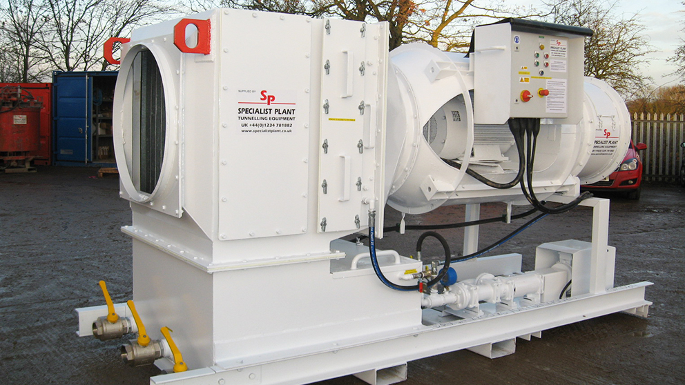MRDE ' Wet' De-dust Unit