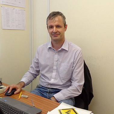 Andy Kyle, Electrical Engineering Manager