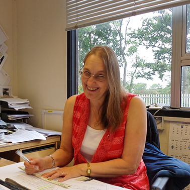 Gill Chambers, Accounts Manager